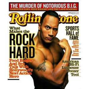 Rolling Stone Cover of Dwane  The Rock  Johnson / Rolling