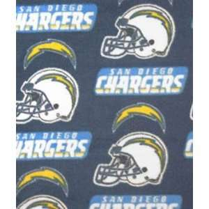 San Diego Chargers Fleece Fabric Arts, Crafts & Sewing