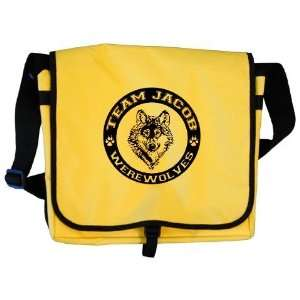 Team Jacob WOLF Twilight Messenger Bag by