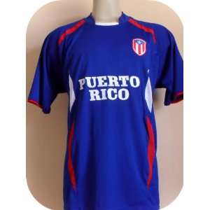 PUERTO RICO SOCCER JERSEY SIZE XTRA LARGE