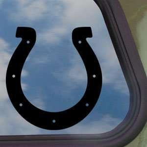 INDIANAPOLIS COLTS Black Decal Car Truck Window Sticker