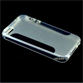 NEW Crystal Clear TPU Silicon Bumper Case for iPhone 4S