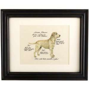 Yellow Lab Dog Print  Ballard Designs