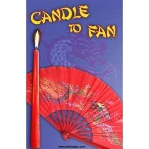 CANDLE TO FAN   Stage / Fire / General Magic Trick Toys & Games