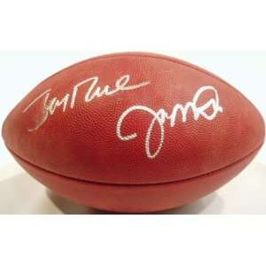 Joe Montana & Jerry Rice Signed Wilson NFL Game Ball