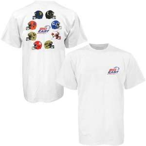 NCAA Big East Conference White Circle Logo T shirt Sports
