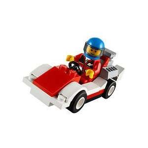 LEGO City Mini Figure Set #30150 Race Car Bagged Toys & Games
