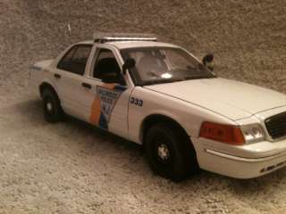 WILDWOOD NEW JERSEY POLICE DIECAST FORD CROWN VIC WITH WORKING LIGHTS