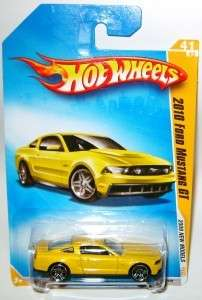 2010 FORD MUSTANG GT DIECAST 2009 HOT WHEELS LQQK