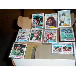 Lott RC, Anthony Munoz RC, football trading card set