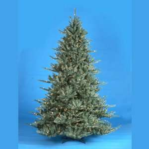 New   6.5 Pre Lit Blue Spruce Decorative Christmas Tree