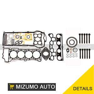 Full Gasket Set + Head Bolts 1.8L QG18DE