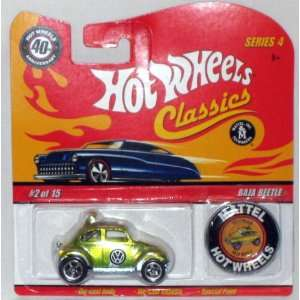 Hot Wheels Classic Series 4 Baja Beetle #02 of 15   Mattel 164 Scale