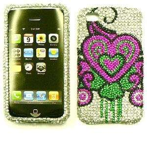 APPLE IPHONE 4 / 4S AT&T VERIZON Full Crystal Diamond / Rhinestone