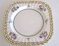 Rare ROYAL WORCESTER Granby China Luncheon Plate 2/1556