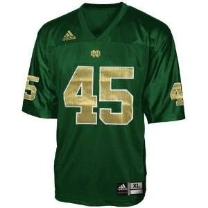 adidas Notre Dame Fighting Irish #45 Green Replica