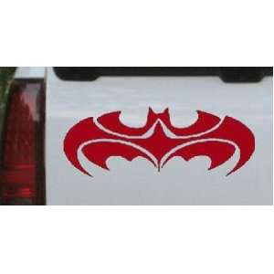 Red 40in X 15.3in    Tribal Batman Car Window Wall Laptop