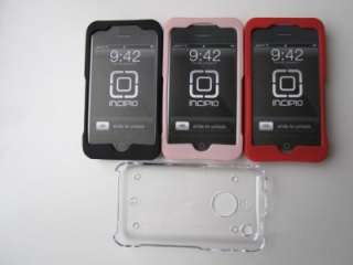 NEW INCIPIO SILICRYLIC CASE FOR IPHONE 3G 3GS 3 PACK RED BLACK & PINK