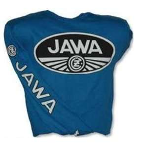 MetroRacing Rocket Racing Jawa Jersey   Large/Blue Automotive