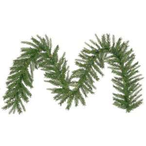 9 Pre Lit Tiffany Spruce Artificial Christmas Garland