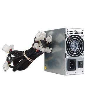 Just PC JPC FP350UM 350W 20+4 pin Dual Fan mATX PSU w/SATA