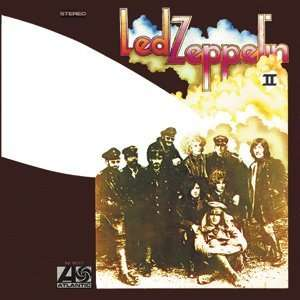 LED ZEPPELIN II ALBUM COVER SQUARE MAGNET Kitchen