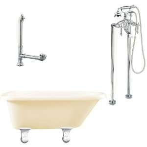 Giagni LB2 PC B Brighton Floor Mounted Faucet Package