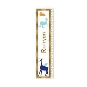 KidKraft Personalized Growth Chart Animals   Boy Baby