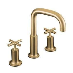 KOHLER Purist French Gold 2 Handle Tub Faucet T14428 3 AF