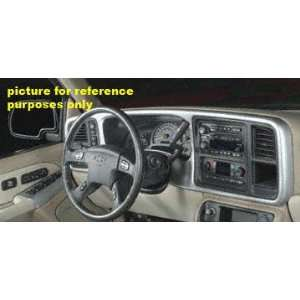 03 04 CHEVY CHEVROLET SILVERADO PICKUP DASH TRUCK, Kit, Double Brushed