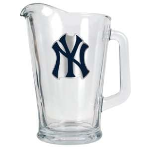 New York Yankees 60 oz. MLB Glass Beer Pitcher