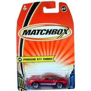 Porsche 911 Turbo Matchbox Car #69