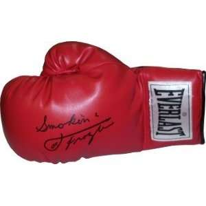 Joe Frazier Autographed/Hand Signed Left Boxing Glove