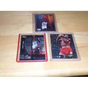 Michael Jordan lot of 3 cards 1990 SKybox #41, 98/99 upper