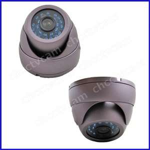 Mini Outdoor 700TVL HD Sony CCD Security CCTV Waterproof IR Dome Color