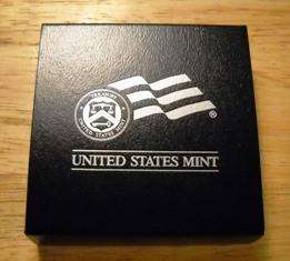 MINT AMERICAN SILVER EAGLE PRESENTATION BOXES
