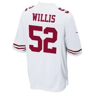 San Francisco 49ers Patrick Willis #52 Replica Game Jersey