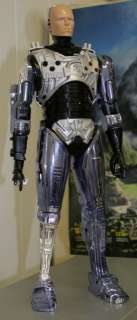 Oversized 15 Tall Articulated Robocop from Toy Island w/ great extras