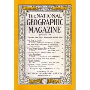 The National Geographic Magazine January, 1958 Multiple
