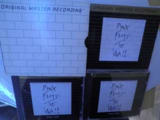 Pink Floyd The Wall   MFSL Ultradisc 24kt Gold plated 2 CD Set