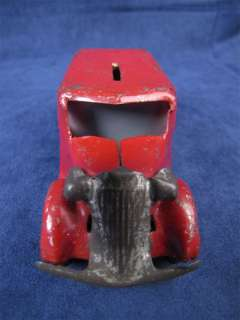 Vintage 1940s Marx Pressed Steel Armored Bank Toy Truck