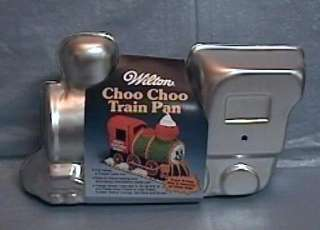 Wilton 3D Stand Up CHOO CHOO TRAIN LOCOMOTIVE Cake Pan Mold w