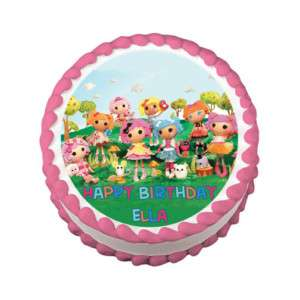 LALALOOPSY DOLL Edible Cake Topper Image Party Supply