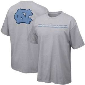 Nike North Carolina Tar Heels (UNC) Ash School Pride T shirt