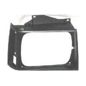 83 90 GMC JIMMY S15 s 15 HEADLIGHT DOOR RH (PASSENGER SIDE) SUV, Black