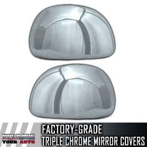 97 03 Ford F150 Half Chrome Mirror Covers Automotive