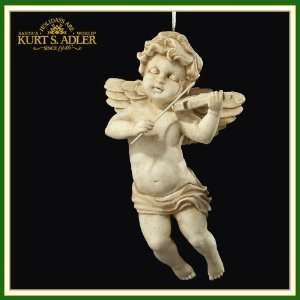 Adler Ornaments C8073 A Cupid with Violin Ornament