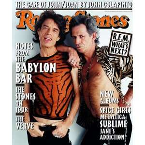 Mick Jagger and Keith Richards, 1997 Rolling Stone Cover