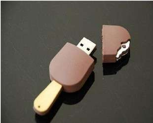 8GB usb flash drive creative chocolate memory pen stick #5305