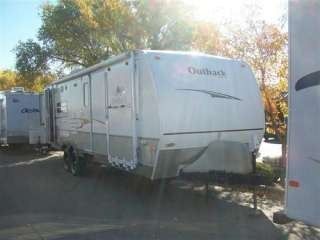 Used 2007 Keystone Outback Kangaroo 28KRS Travel Trailer Toy Hauler RV